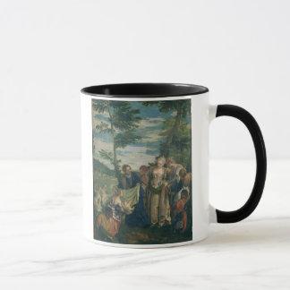 Mug Moïse a secouru du Nil, 1580 (l'huile sur la