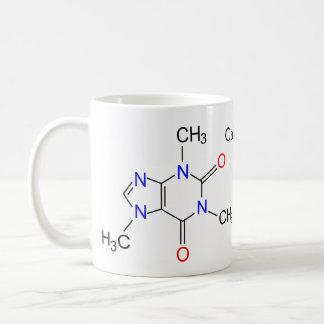 Mug Molécule de caféine