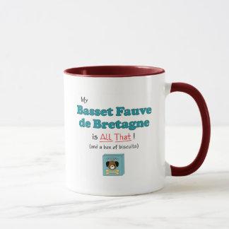 Mug Mon Basset Fauve de la Bretagne est tout cela !