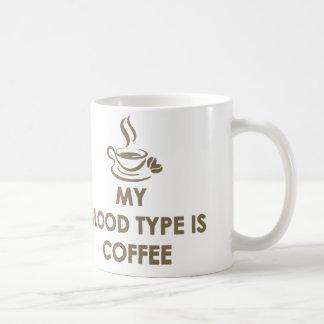 Mug Mon groupe sanguin est café