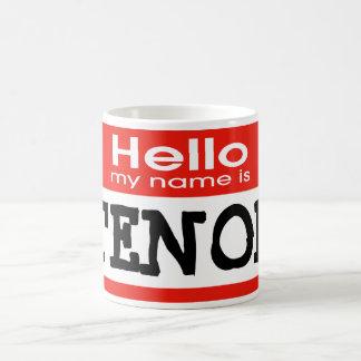 Mug Mon nom est TENOR