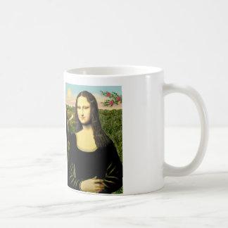 Mug Mona Lisa - ajoutez un animal familier