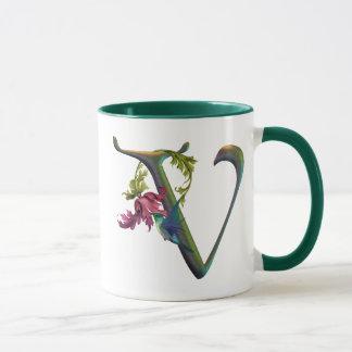 Mug Monogramme V de colibri