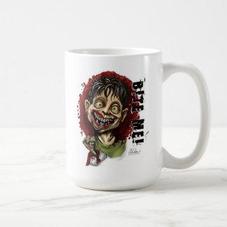 Mug Mordez-moi garçon et tortue de zombi