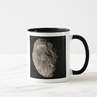 Mug Mosaïque de véritable couleur de la lune Hyperion