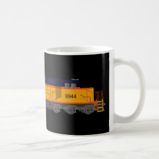 Mug Moteur de train : Modèle de couleurs classique :