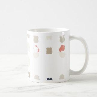 Mug Motif abstrait de formes dans les couleurs en