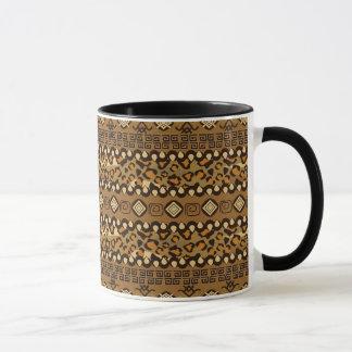 Mug Motif africain de peau de guépard