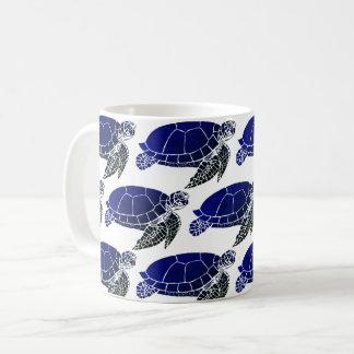 Mug Motif bleu de tortue de mer