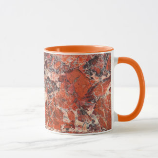 Mug Motif bréchiforme de pierre de jaspe