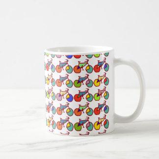 Mug motif coloré de vélos