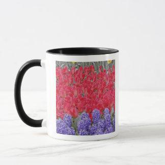 Mug Motif de jacinthe, de tulipes, et de jonquilles,