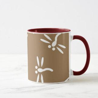 Mug Motif de la libellule