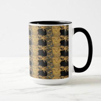 Mug Motif de noir d'or de Nouveau Gustav Klimt d'art