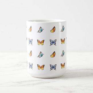 Mug Motif de papillon : Art de vecteur