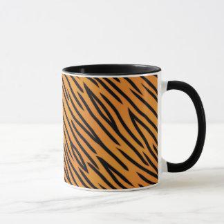 Mug Motif de rayure de tigre