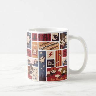 Mug Motif de scènes de bande dessinée de Harry Potter
