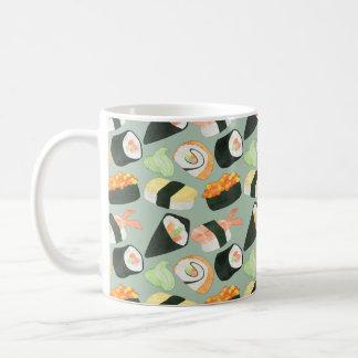 Mug Motif de sushi d'aquarelle