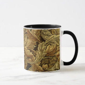 Mug Motif de William Morris de feuille d'automne