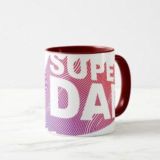 Mug Motif du feu de SuperDad 3D