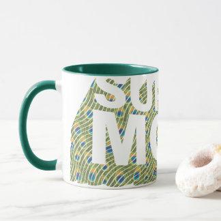 Mug Motif du paon 3D de SuperMom