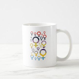 Mug Motif femelle de symbole