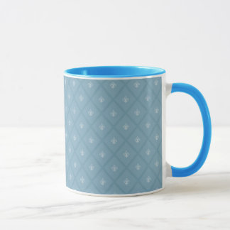 Mug motif Fleur-De-lis