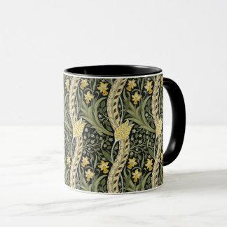 Mug Motif floral de textile de jonquille de William