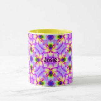 Mug Motif floral pour Pâques JOSIE personnalisé par ~