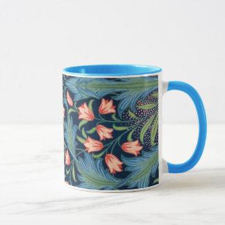 Mug Motif floral vintage de William Morris