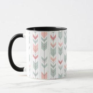 Mug Motif géométrique dans le rétro style