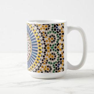 Mug Motif géométrique de tuile, Maroc