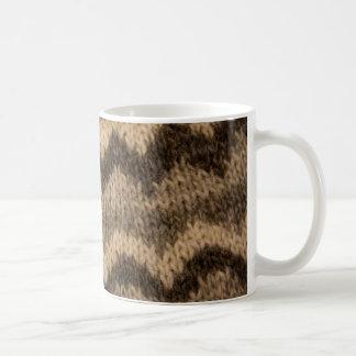 Mug Motif islandais de laine
