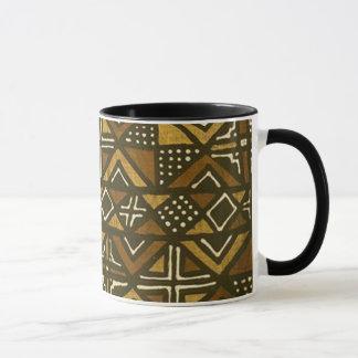 Mug Motif kenyan #1 de tissu de boue