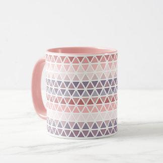 Mug Motif mauve rose pourpre violet en pastel de