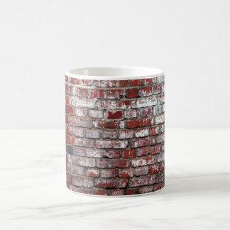 Mug Motif patiné de mur de briques
