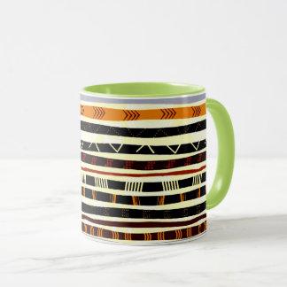 Mug Motif tribal africain