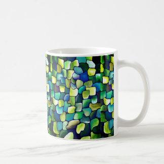 Mug Motif vert contemporain
