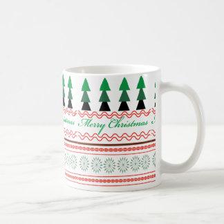 Mug Motifs géométriques de Noël lunatique