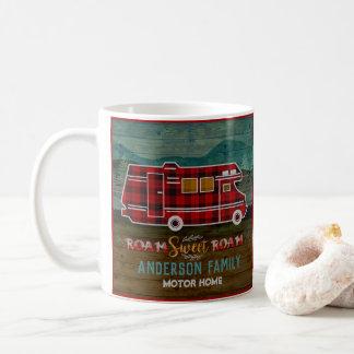 Mug Motorhome rv Camper Travel Van Rustic Personalized