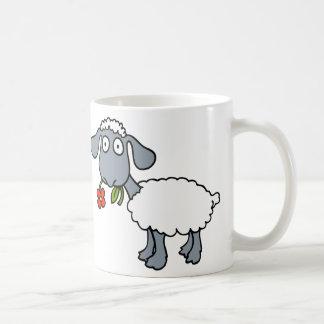 Mug Moutons blancs deux agneaux mignons avec les