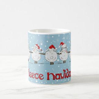 Mug Moutons DRÔLES adorables de Noël de Navidad