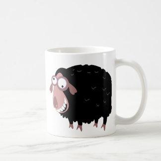 Mug Moutons noirs drôles