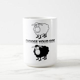 Mug Moutons noirs et blancs
