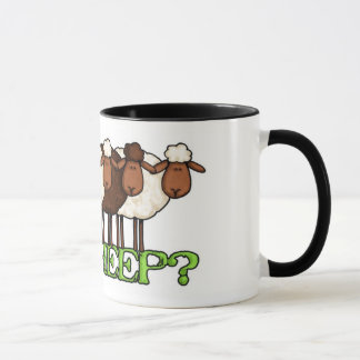 Mug moutons obtenus