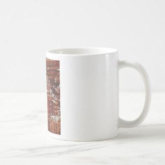 Mug mur de roche de forme de forme d'érosion