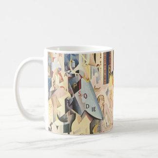 Mug Musique vintage, jazz d'art déco, rhapsodie dans