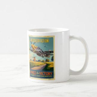 Mug Mustang au-dessus de la Hollande
