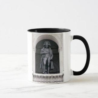Mug Napoléon I (1769-1821) dans un manteau d'hiver,