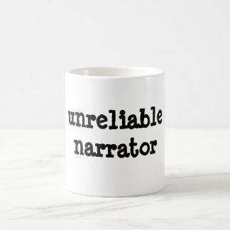 Mug narrateur peu fiable